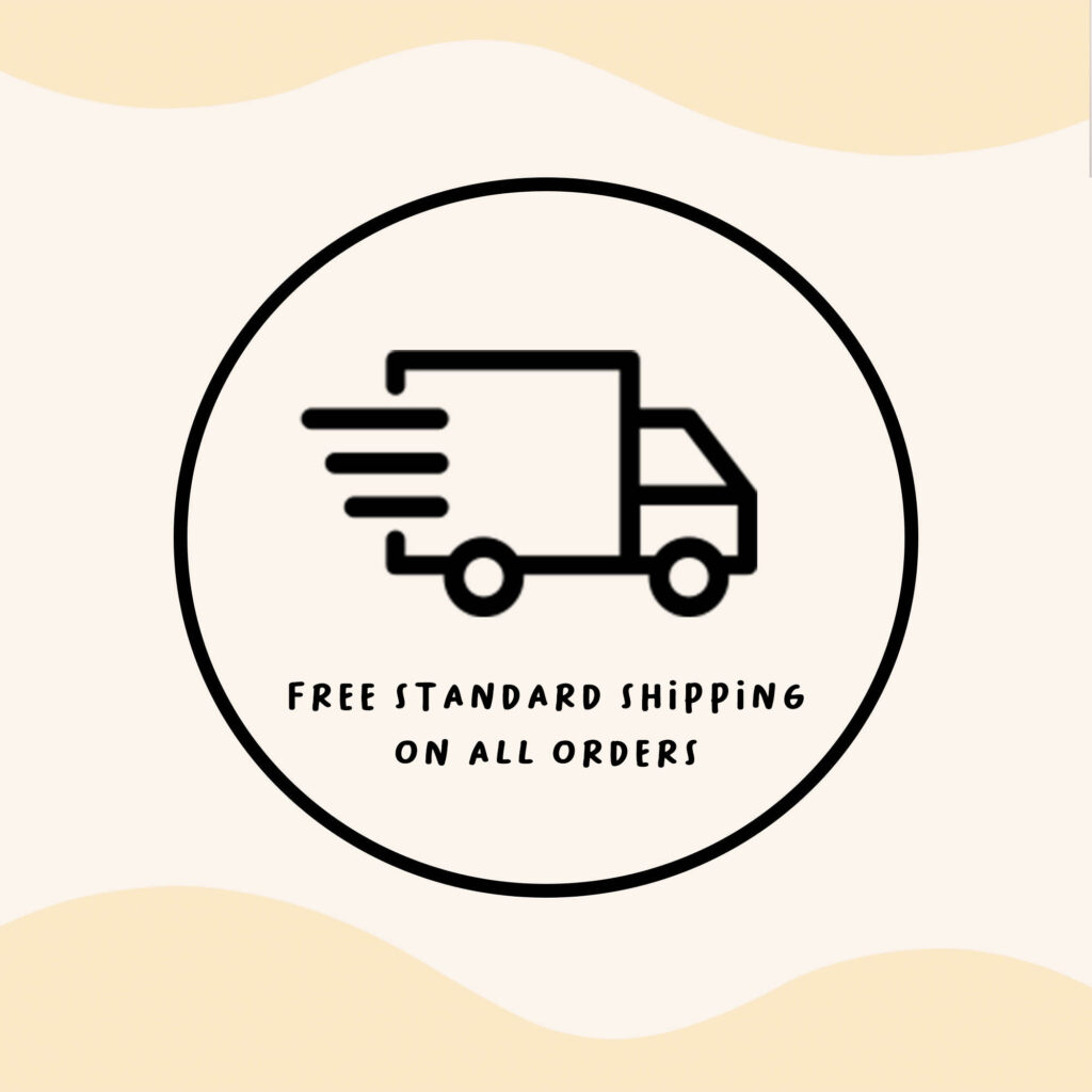 piccolini free standard shipping on all order